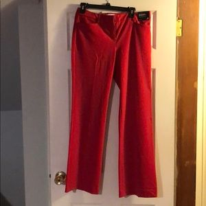 NY&C The 7th Avenue Bootcut Red Pants